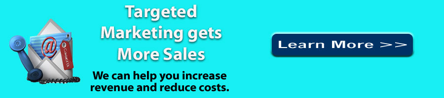 Targeted Marketing Gets More Sales - Schedule a Consultation
