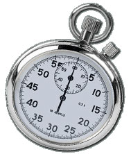 Should mastering marketing skills be timed with a stopwatch or calendar?