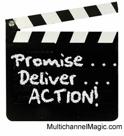 Promise & deliver customer satisfaction
