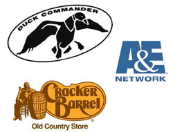 Duck Commander, A&E, Cracker Barrel