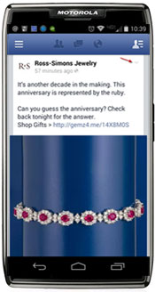 Facebook Save Mobile Phone