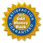 365 Day Money Back Guarantee